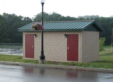 Double Restroom Building