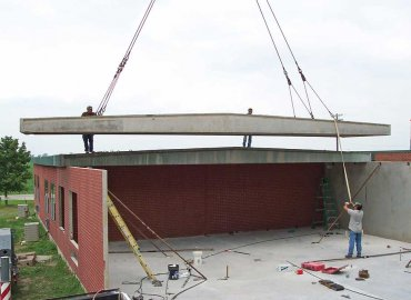 Clear-Span Roof Instillation
