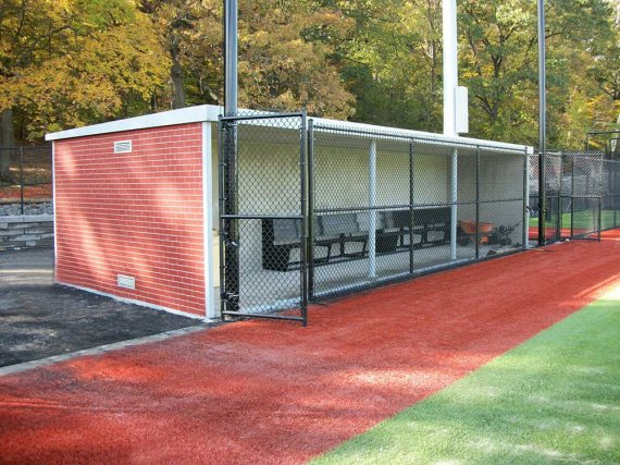Precast concrete ballfield dugouts easi set buildings for Precast concrete basement walls cost
