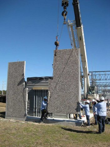 Easi Span Buildings Are Built On Site Faster Than Stick