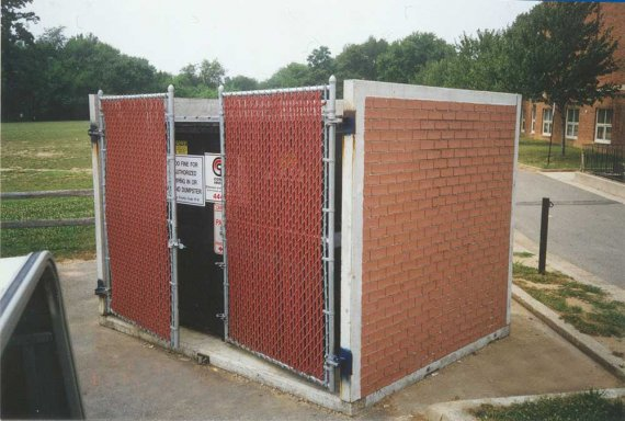 Precast Concrete Garbage Enclosures Precast Buildings