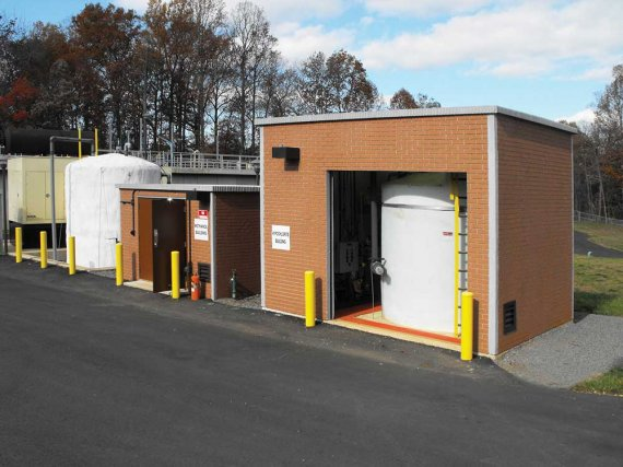 Prefabricated Hazardous Material Storage Building