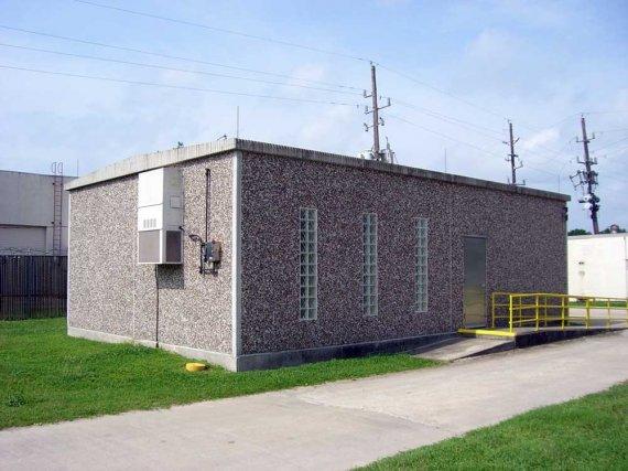 Cellular Concrete House Building For : Precast concrete office buildings prefab
