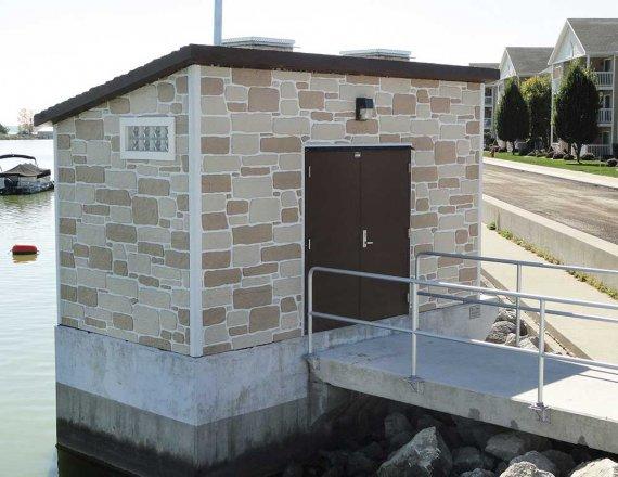Precast Concrete Pump House Buildings | Well House Buildings
