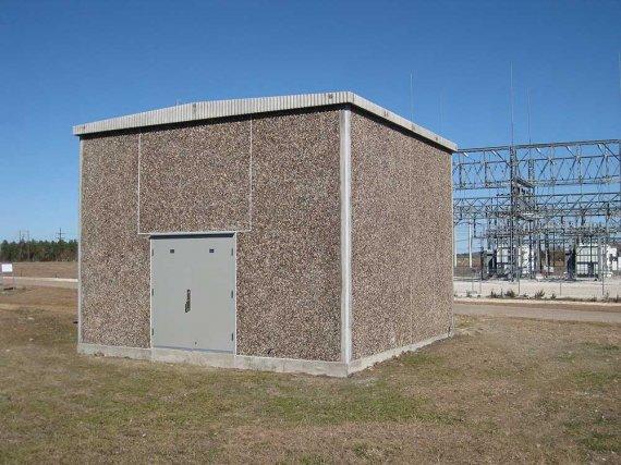 Precast Concrete Buildings : Precast concrete utility shelters buildings