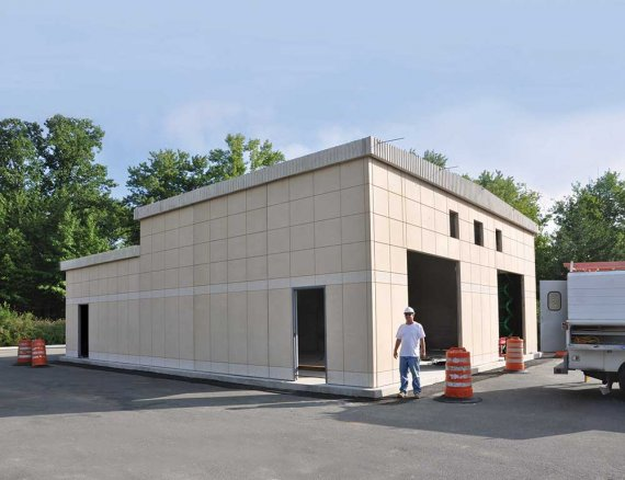 Precast Workshop Amp Maintenance Shed Buildings Easi Set
