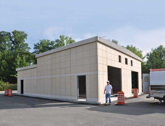 Precast Workshop Amp Maintenance Shed Buildings Easi Set