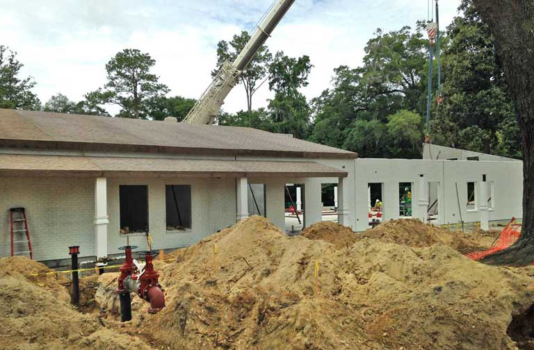 Bolles School Easi Set Building construction one