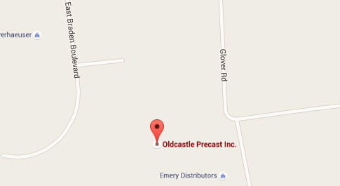 oldcastle map
